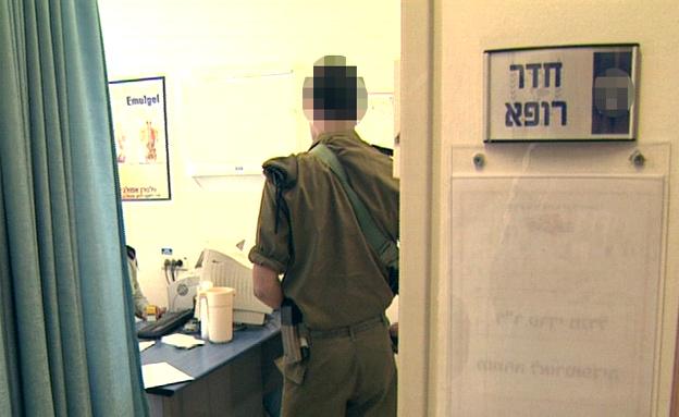 האזינו למפגש בין הפסיכיאטר לחייל (צילום: חדשות 2)
