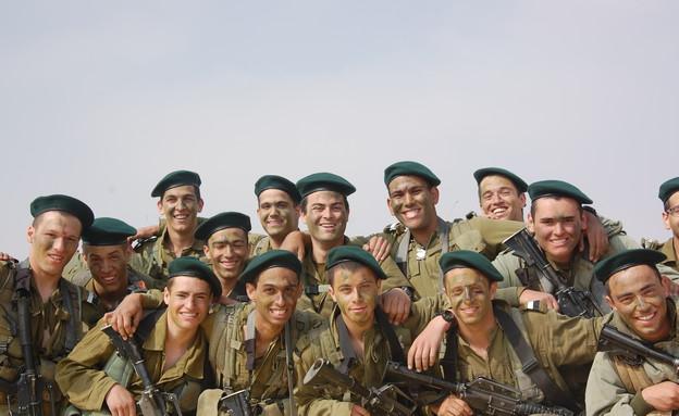 """סיום מסע כומתה איסוף קרבי (צילום: דובר צה""""ל)"""
