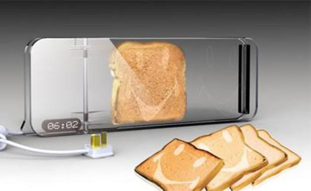 שקופים, טוסטר לחם (צילום: Smile-Cooking-Toaster)