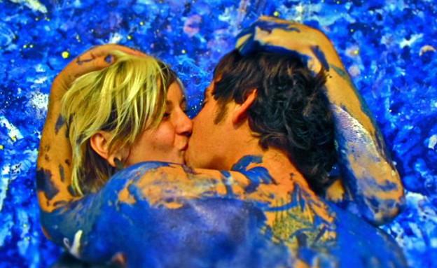 תוך כדי, אהבה וציור (צילום: dailymail.co.uk)