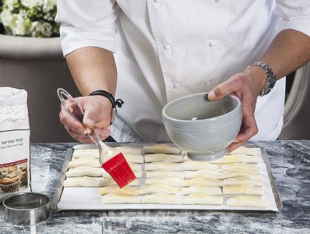 סמבוסק במילוי גבינה מלוחה