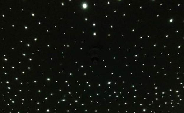 תקרת כוכבים - התוצאה הסופית (צילום: בריאן דארסי, צילום מסך)