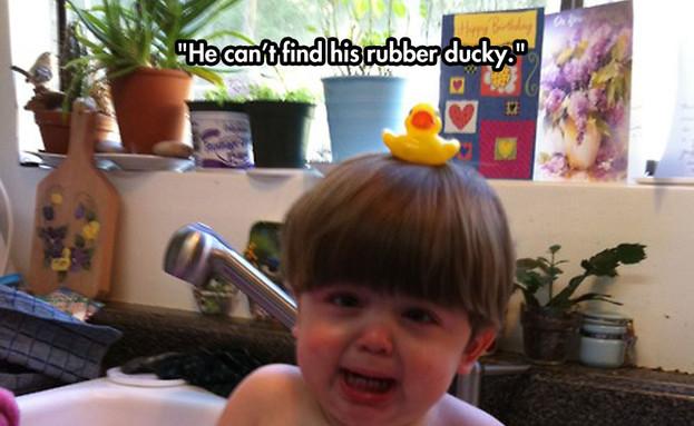 למה ילדים בוכים (צילום: distractify.com)