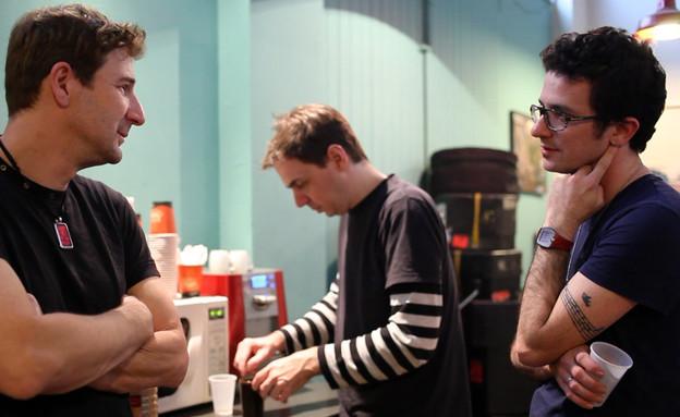 היהודים באולפן, תום פטרובר (צילום: נהוראי חובב ביטון)