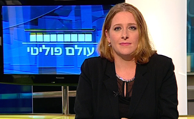 טל רוזנר ערוץ הכנסת עולם פוליטי (צילום: חדשות 2)