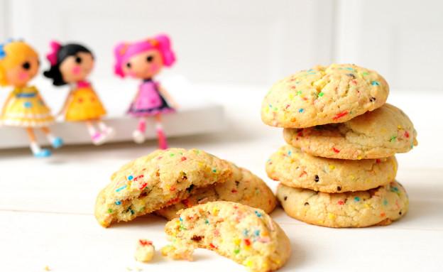 עוגיות קונפטי  (צילום: שרית נובק - מיס פטל, אוכל טוב)