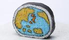 כדור הארץ בסושי (צילום: צילום מסך מהאתר spoon-tamago.com)