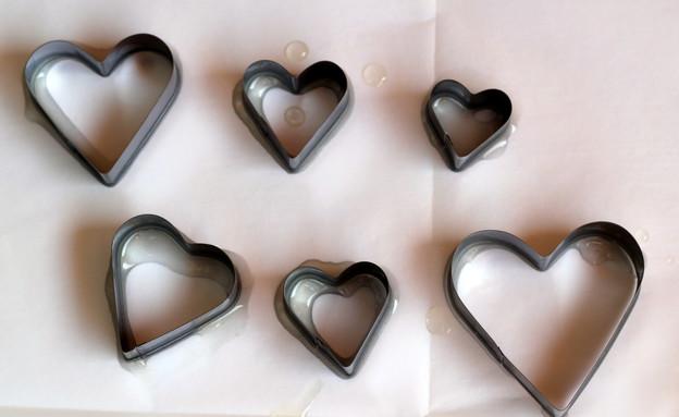 מובייל לבבות, חותכנים (צילום: לירון גונן)