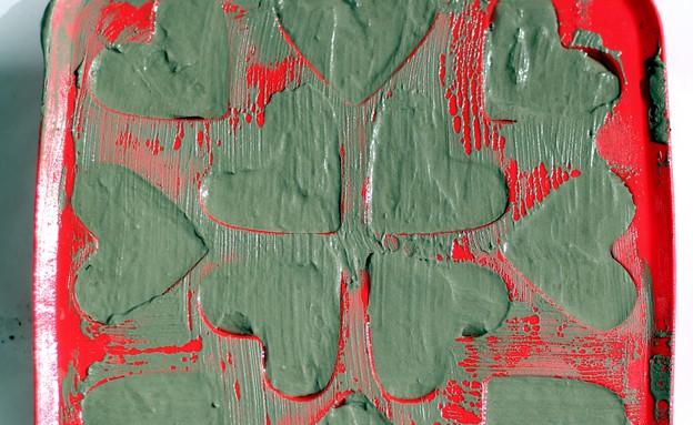 מובייל לבבות, תבנית קרח (צילום: לירון גונן)