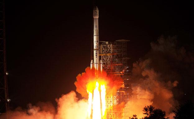 תזכורת: כך נראה שיגור הגשושית לחלל (צילום: רויטרס)
