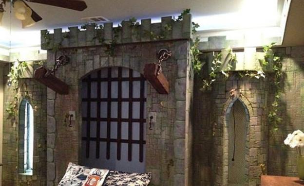 מיטת טירה, המיטה (צילום: etsy.com)