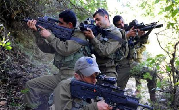 """מסע כומתה גדוד חרב (צילום: דובר צה""""ל)"""