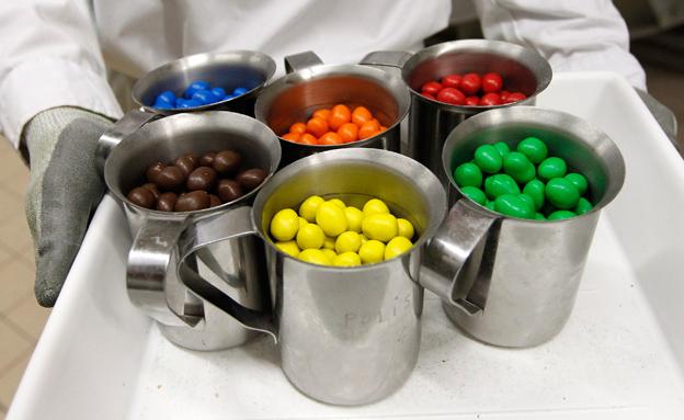 מה לא ידענו על סוכריות m&m? (צילום: רויטרס)