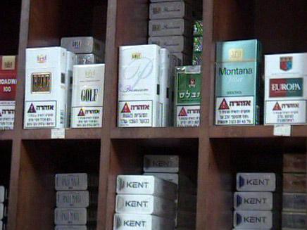 בין המוצרים הפופולריים: סיגריות. אילוסטר (צילום: חדשות 2)