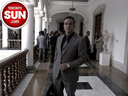 איש העסקים אריאן אזרבר (צילום: Toronto Sun)