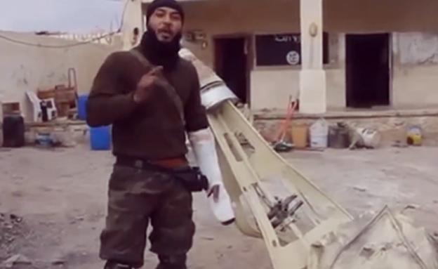 המורדים בסוריה: הפלנו כלי טיס