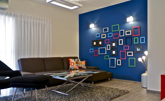שדרוג בצבע, קיר מסגרות, צילום איתי סיקולסקי (צילום: איתי סיקולסקי)
