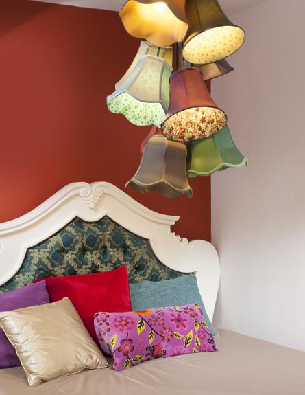 שדרוג בצבע, חדר שינה גובה, עיצוב פנים ואדריכלות שי (צילום: שי אפשטיין)