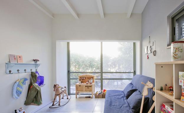 אביטל לור, חדר ילדים חלון (צילום: הגר דופלט)