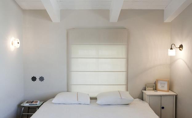אביטל לור, חדר שינה מיטה (צילום: הגר דופלט)
