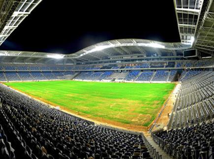 """איצטדיון """"סמי עופר"""". יארח את הסופרקאפ האירופי? (צילום: ספורט 5)"""
