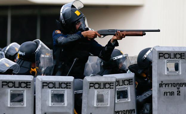 הפגנות בתאילנד (צילום: חדשות 2)