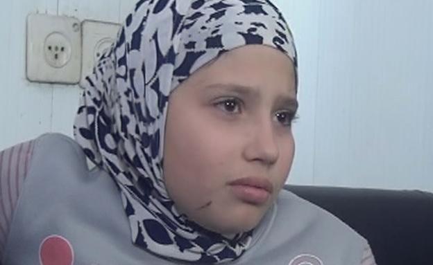 הילדה ששרדה את הפיצוץ (צילום: חדשות 2)