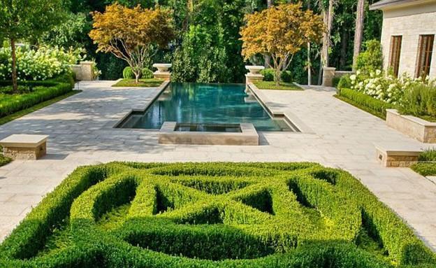 בית ג'סטין, בריכה צמחייה (צילום: Sothebys Realty)