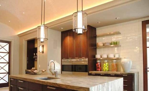 בית ג'סטין, חוץ מטבח (צילום: Sothebys Realty)