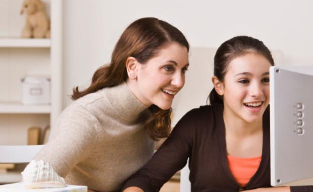אמא ובת (צילום: thinkgeek, thinkstock)