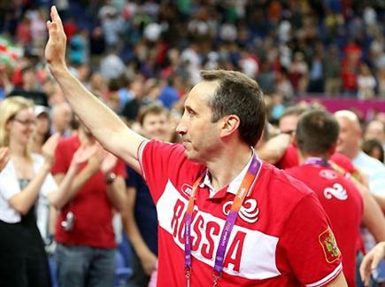 בלאט. הוביל את הרוסים להישגים אדירים בכדורסל (gettyimages) (צילום: ספורט 5)