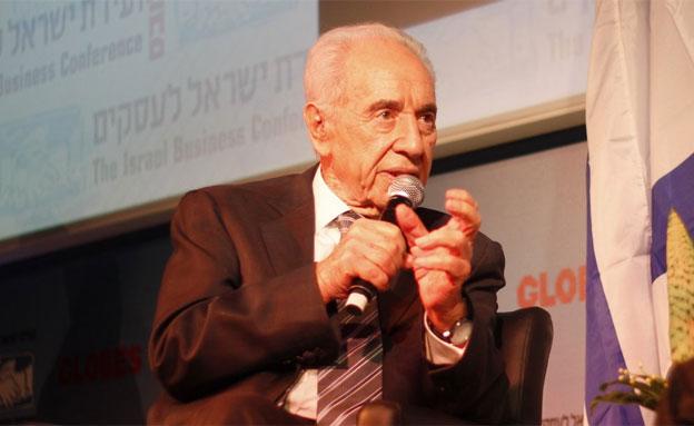 שמעון פרס (צילום: יונתן סננס, חדשות 2)