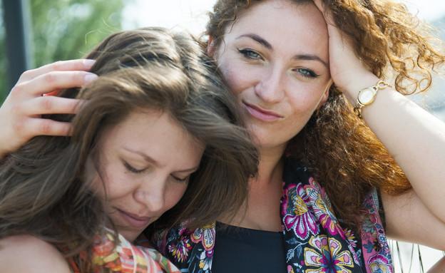 שתי נשים מאוהבות (צילום: toxawww, Thinkstock)
