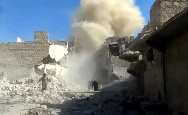 סוריה - יומן מלחמה: המורדים תחת מתקפה נרחבת