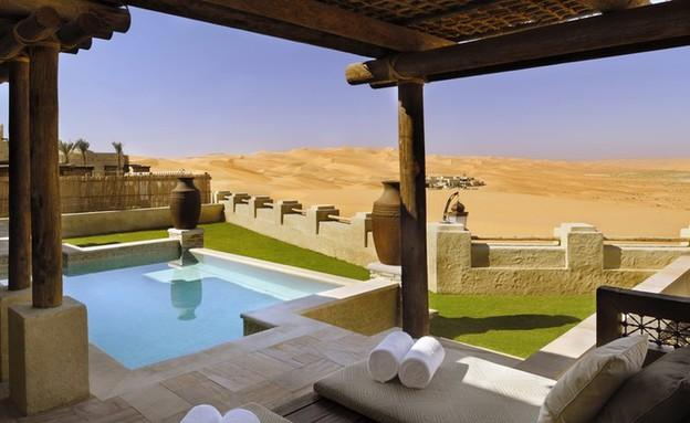Qasr-al-Sarab, איחוד האמירויות, המלונות הכי יפים (צילום: theguardian.com)