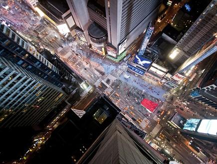מעל הטיימס סקוור, תמונות מלמעלה