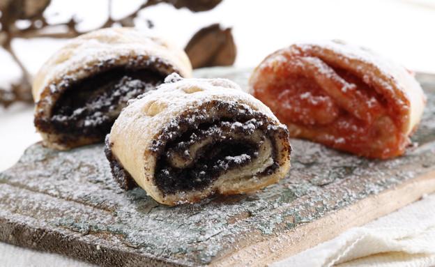 עוגיות מגולגלות (צילום: אפיק גבאי, אוכל טוב)
