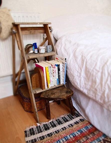 שידה ממוחזרת, סולם גובה (צילום: ohidesignblog.com)