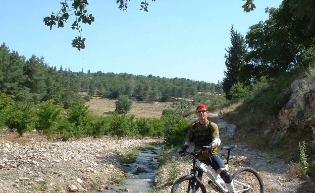 נחל ציפורי, 2004, מכורים לטיולים בארץ (צילום: באדיבות ציקי שני)