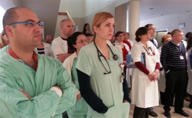הרופאים מפגינים, השבוע (צילום: עזרי עמרם, חדשות 2)