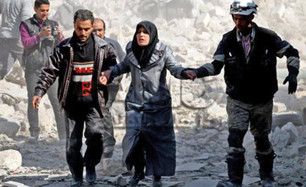 צפו: עיי חורבות בסוריה