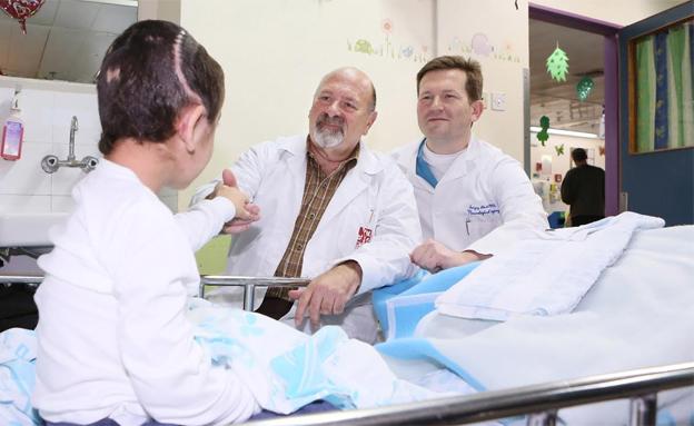 הרופאים הצילו את חייו של ק' (צילום: פיוטר פליטר)