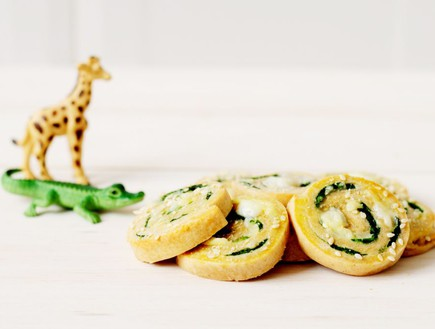 שבלולי גבינה עם תרד (צילום: שרית נובק - מיס פטל, אוכל טוב)
