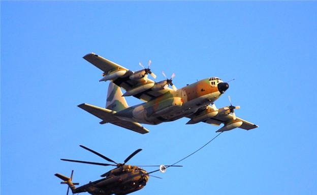 יסעור מתדלק מהרקולס (צילום: חיל האוויר)