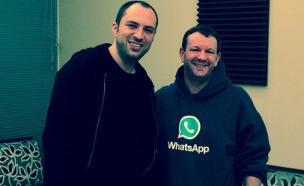 מייסדי ווטסאפ בריאן אקטון (מימין) ויאן קום (צילום: SEQUOIA CAPITAL)