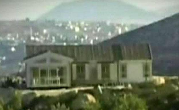 הבית במאחז קידה (צילום: חדשות 2)