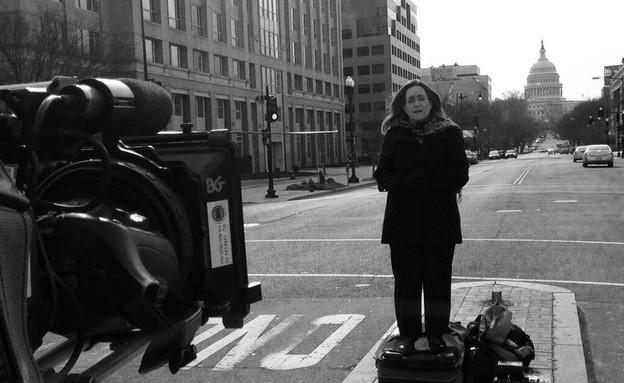 אילנה דיין בצילומים (צילום: רונן מאיו, עובדה)