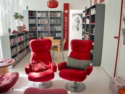 ג'ודית דה גרף, חדר עבודה כורסאות