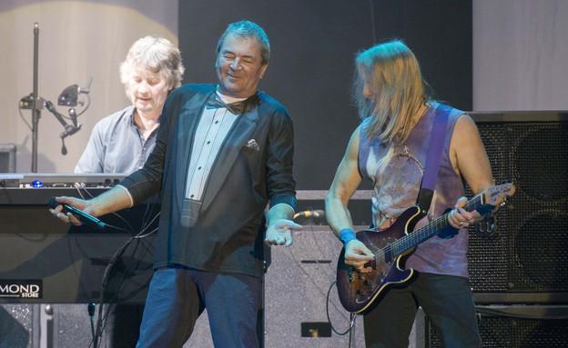 איאן גילן, גיטריסט, דיפ פרפל הופעה בנוקיה (צילום: נמרוד סונדרס)