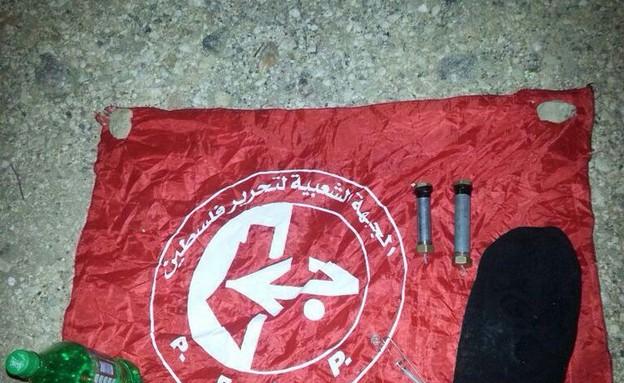 """מטען צינור שנתפס על ידי חיילי נצח יהודה (צילום: דובר צה""""ל)"""